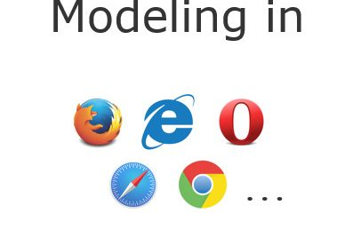 Automatic Generation of Web-Based Modeling Editors