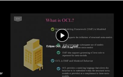 آشنایی با ابزار Eclipse OCL