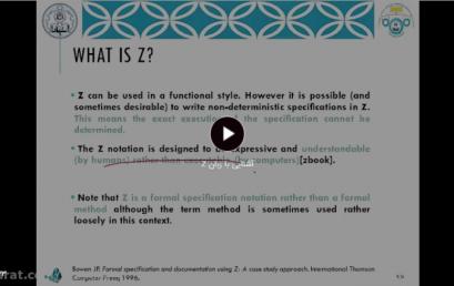 Introducing Z Language