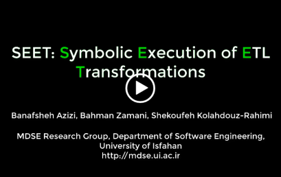 SEET: Symbolic Execution of ETL Transformations