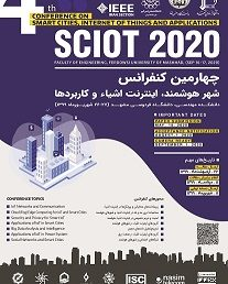 Acceptance of Mr. Mehdi Ziyaee's paper in SCIoT 2020 Conference